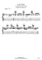 Beatles-Let It Be-Arrangement