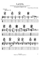 The Beatles – LET IT BE – arrgmt+solo